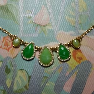 *3 for $15 Necklace with green stones